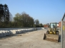 Bau Bahnsteig Aurich