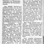 1996-06-26 - Wiederinbetriebnahme der Bahn Aurich - Abelitz wirtschaftliche Katastrophe