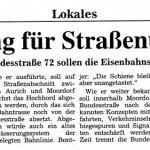 1999-01-13 - Moordorf Planung für Straßenumbau geht weiter