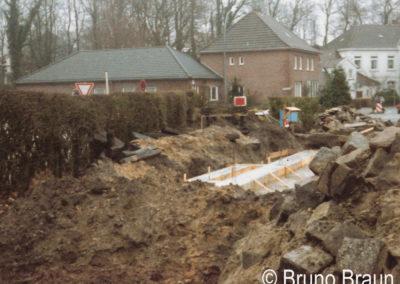 Das Bahnhofsendgleis wird überbaut