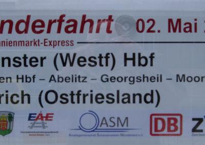 Sonderfahrt Münster - Aurich