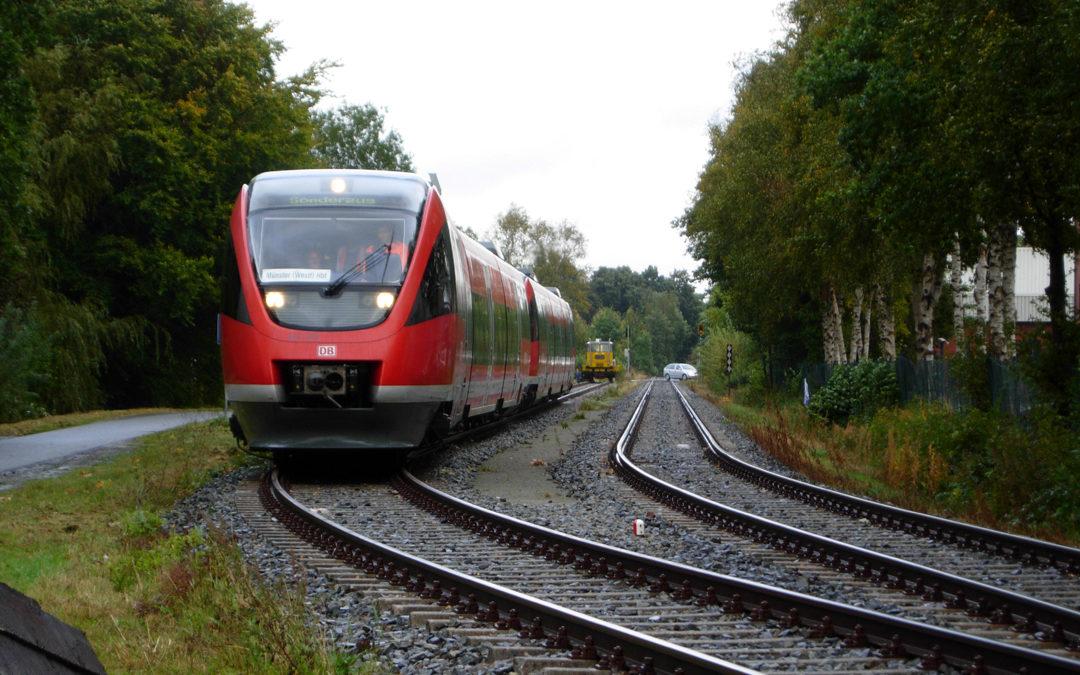 Modellregion für Bahnausbau