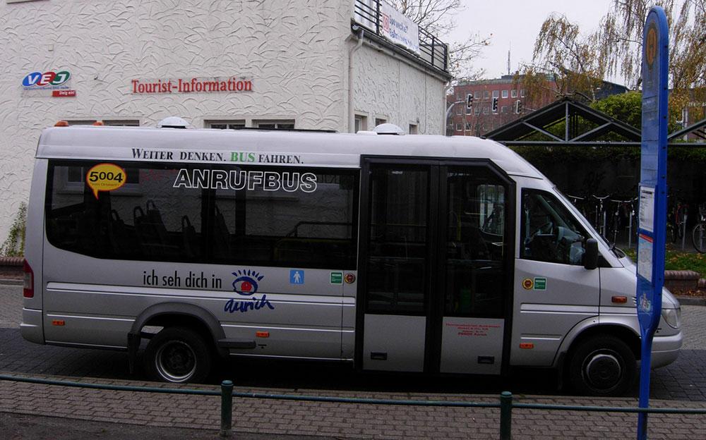Stadtbus in Aurich